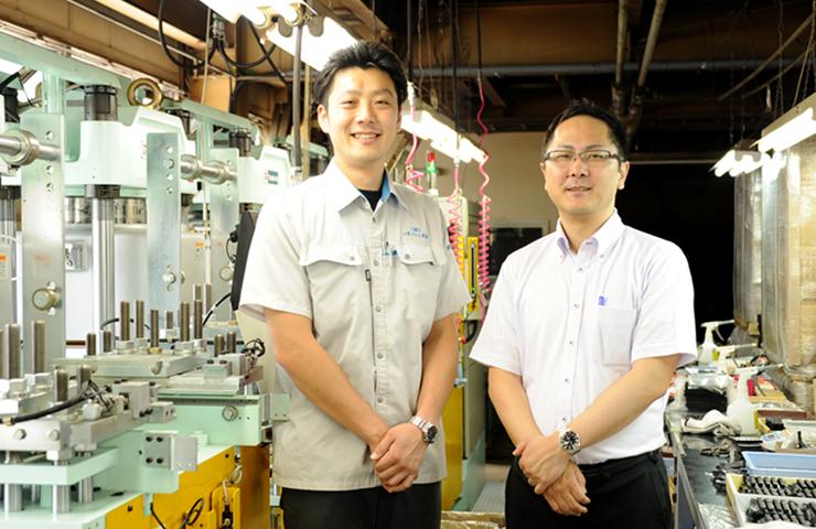 小野ゴム工業訪問写真