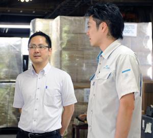 小野ゴム工業インタビュー写真